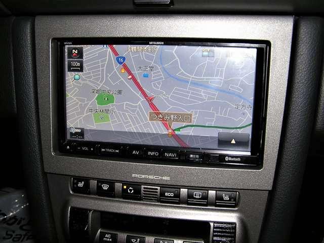 ナビゲーションは社外SDナビゲーションになります。(地デジ、Bluetooth、DVD再生機能付きです)