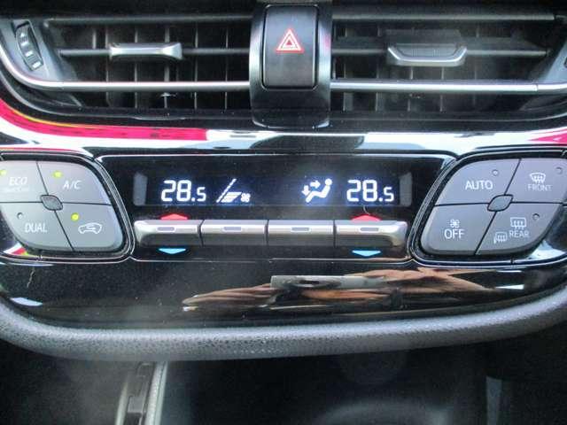温度設定するだけで、風量や吹き出し口を自動で調整してくれる、フルオートACです♪