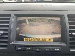 駐車が苦手な方も安心のバックカメラ付き!