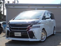 トヨタ ヴェルファイア 2.5 Z 新品車高調 WALD19AW 9インチツインナビ