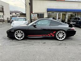 GT3仕様フルエアロ・ENKEI19AW・ブラックレザーシート・サンルーフ・社外テール・社外ナビ・TV