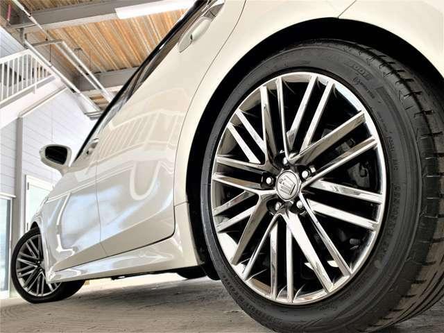 18インチアルミホイール!アルミの変更、車高調取り付け、追加カスタムも受け付けております!