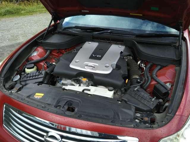 VQ25HRタイミングチェーンエンジン!225PS(カタログ値)
