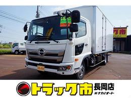 日野自動車 レンジャー 2.2t 4WD ワイドベッド付 保冷バン 格納ゲート付