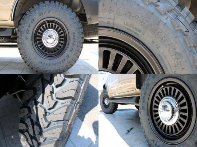 新品DEANカリフォルニア16インチAW&オープンカントリー235MTタイヤ装備!