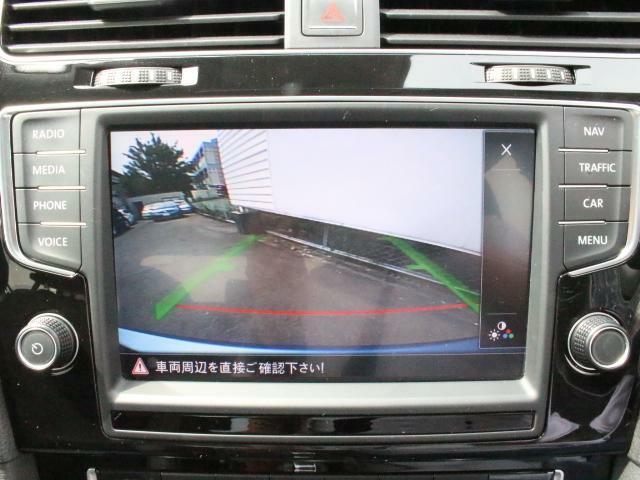 リアビューカメラ内蔵で、狭い駐車場も安心です。