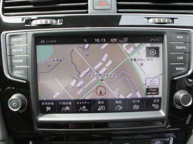 純正ナビゲーションシステムDiscover Pro を装備、CD、ラジオのほかSDカード、USB、Bluetoothも対応しています。 地デジチューナーも搭載。