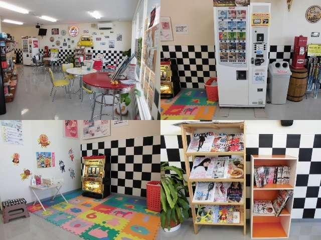 Aプラン画像:店内はアメリカンテイストな雰囲気になってます☆キッズスペースもございますのでお子様連れでも安心!