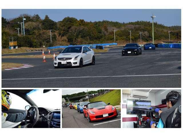 毎月開催のドライビングアカデミーでは、プロドライバー講師の武井選手を迎え、サーキットやジムカーナ上で開催します。走る・曲がる・止まる、の運転する楽しさを身近に感じて頂きます。