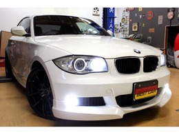BMW 1シリーズクーペ 120i Mスポーツパッケージ 19inアルミ フロントエアロ HDDナビ
