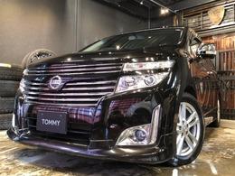 日産 エルグランド 3.5 350ハイウェイスター プレミアム 4WD 黒革/リアモニター/電動テールゲート