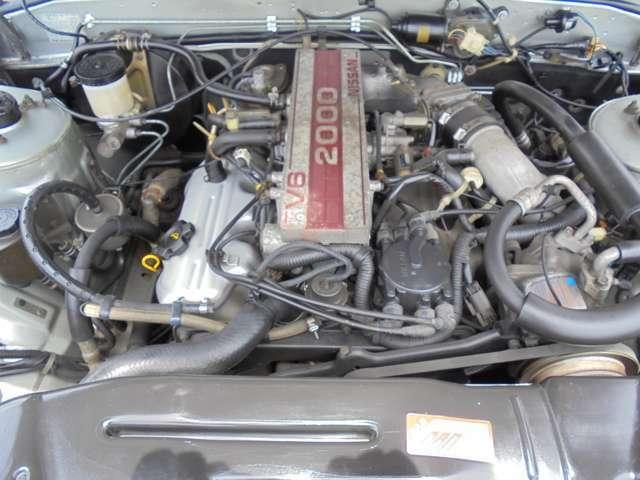水冷V型6気筒OHC!! 出力115ps(85kw)/6000rpm! エンジン、ミッション等コンディション良好です!!