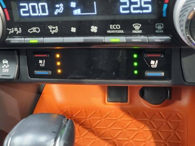 【シートヒーター&シートクーラー】一年中快適なドライブをサポートしてくれます。