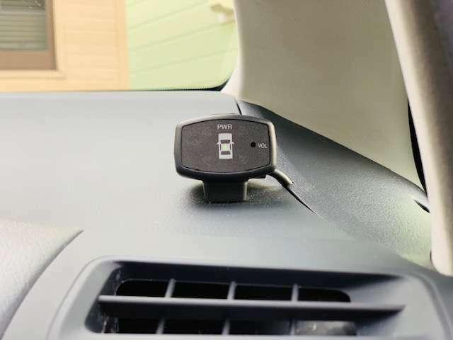 Aプラン画像:コーナーセンサーもしっかりと付いておりますので、安心ですね♪