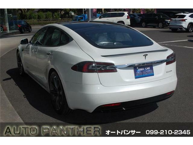 テスラモデルSまたまた入荷しました・パフォーマンス・完 全 自 動 運 転・LUDICROUSモード・白革・エアサス・詳細はHP(http://auto-panther.com)をご覧下さい!