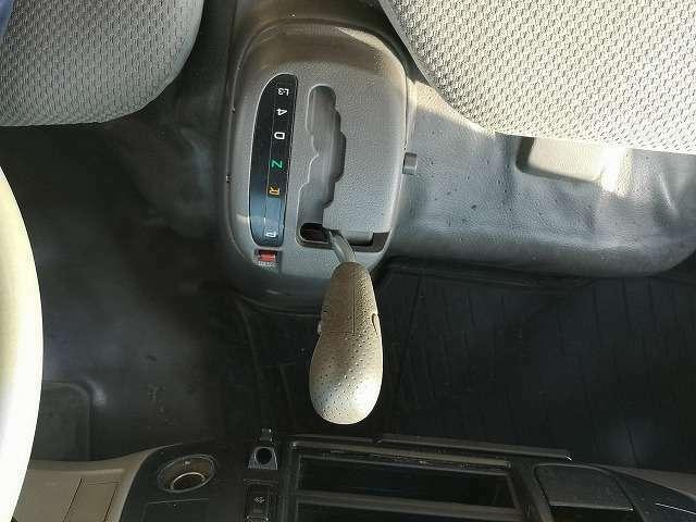 女性でも楽々運転のAT!