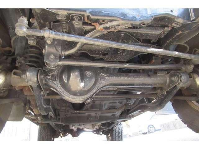 4WDハブロック左右・エンジンオイル・オイルエレメント・バッテリー・ファンベルト・ブレーキフルード・デフオイル、トランスファーオイルは納車整備時に交換致します。その他予防整備はご相談下さい。