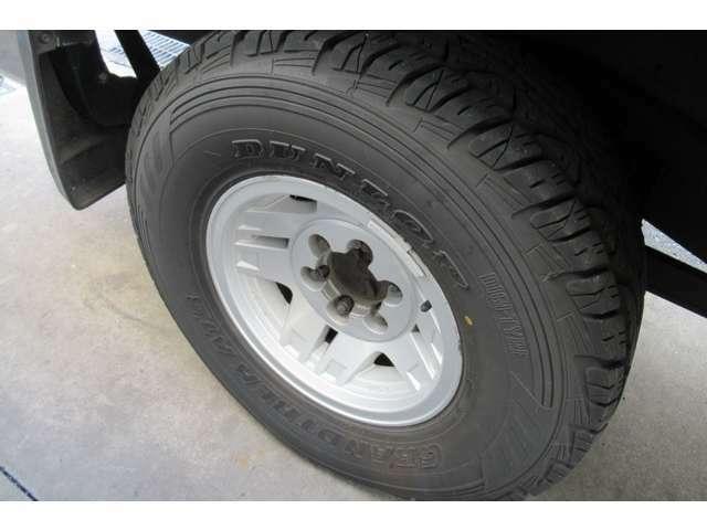 タイヤは2019年製造で交換の必要はありません。