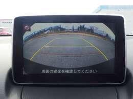 バックカメラ付きで駐車場も安心!!