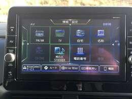 純正ナビゲーション(MM319D-L)、USB接続ケーブル