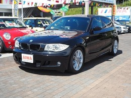 BMW 1シリーズ 118i Mスポーツパッケージ 社外ナビ ハーフレザーシート