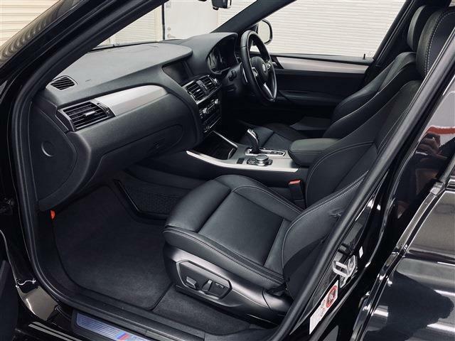 快適なパワーシート・シートヒーターが装備されています。運転席・助手席共に使用感もほとんどなく、とても綺麗な状態です。レザーシート表皮の擦れも見受けられません。
