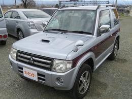 三菱 パジェロミニ 660 エクシード 4WD ナビ TV バックカメラ