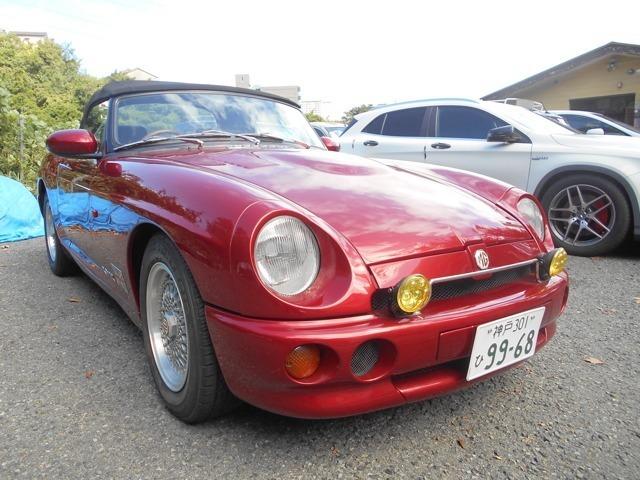 奇跡の1台です!! MGの当時カラー全塗装! レストア費用は300万円いじょう!!