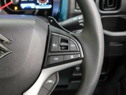 【アダプティブクルーズコントロール】スイッチを操作すると、ステレオカメラで先行車との距離を測定。設定した車間距離を適切に保ちながら加速・減速、さらに停止まで自動追従します。