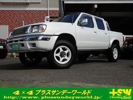 日産 ダットサン 2.4 AX ダブルキャブ 4WD リフトUP 社外アルミ