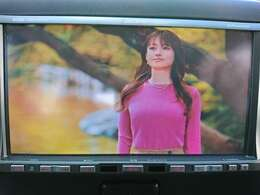 アルパインフルセグナビ。テレビの映像もキレイに映ります