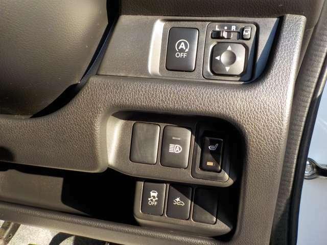 安全装置「軽減ブレーキ」付き