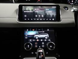 【タッチプロデュオ】エアコンや車両の設定などをした画面のディスプレイでタッチで操作可能!上部画面の角度も変更できます!ボタンが少なく、シンプルで美しいデザインが魅力的なオプションです!