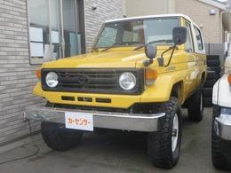 トヨタ ランドクルーザー70 4.2 LX FRPトップ ディーゼル 4WD リフトUP 社外足廻り 社外アルミ