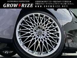 ロクサーニ パヴォーネ 20インチホイール新品☆245/35R20タイヤ新品☆タナベダウンサス新品☆四輪アライメント調整納車致します。カスタムご相談ください。