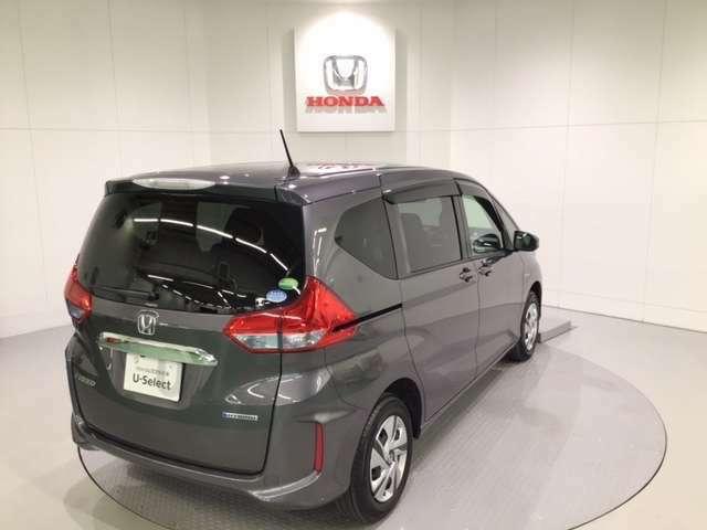 ★U-SelectPremium認定車では、2年間、走行距離無制限の無料保証付き!全国ホンダ店で対応可能な保証です!
