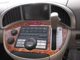 CDナビ付きの運転席操作周りも高級感あふれる仕様となっております!