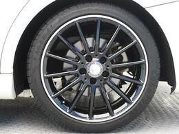●純正AMG18インチアルミホイール『パンクなどのタイヤのトラブルは思わぬ出費になってしまいますが、当店のタイヤ保証があれば万が一のトラブルにも当社でご対応可能です!』