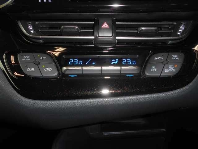 オートエアコン機能を使えば設定した温度に自動でキープ!シートヒーターも付いているので寒い冬でも快適に過ごせます♪