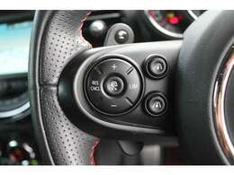 前車追従、アクティブクルーズコントロールが運転の負担を軽減します。
