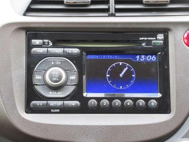 ディスプライ付き純正CDオーディオが装備されています!