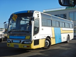 UDトラックス スペースアロー 57人乗り 観光バス 貫通トランク2室 ハイデッカー フルエアサス ニーリング