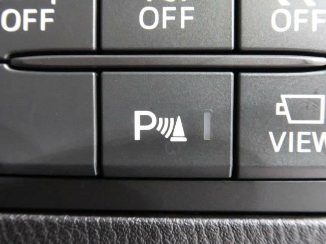 【車種専用装備】☆クリアランスソナー☆前後バンパーに付いたセンサーが障害物を検知!一定の距離に近づくとアラートで教えてくれます♪狭い駐車スペースや車庫入れ時も安心ですね☆