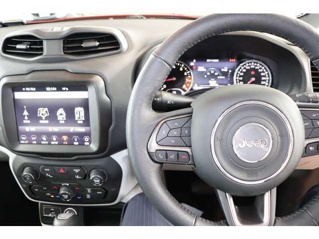 直感的に操作可能なスイッチ類が、ドライバーの運転を妨げません