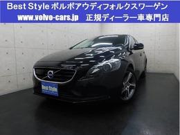 ボルボ V40 D4 SE ディーゼルターボ 2016モデル/インテリ/黒革/純ナビ/1オナ/保