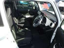 座席が高く運転者に快適なシート