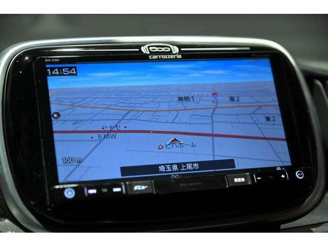 ナビゲーション装備♪機能充実・操作も簡単でとっても便利です♪地デジ視聴可能、ナビデータ更新等も承っております♪