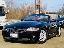 BMW Z4 ロードスター2.5i MTモード付き電動 赤レザーシート検R4年6月