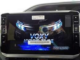ヴォクシー専用アルパイン製11インチナビを装備!大画面でとても使いやすいナビです!