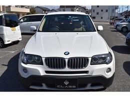BMW X3 2.5si 4WD ワンオーナー 純正HDDナビ レザーシート